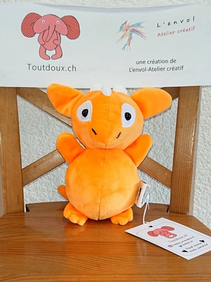 Dragon bébé - orange