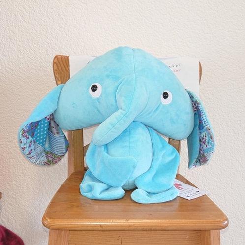 Elephant maman - turquoise