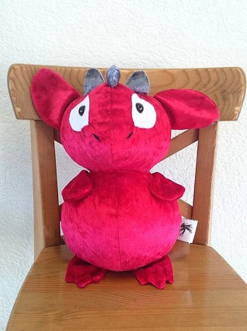 Dragon maman - rouge