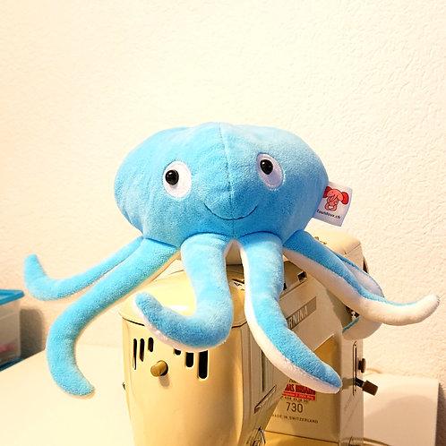 Poulpe bébé avec tentacules - turquoise