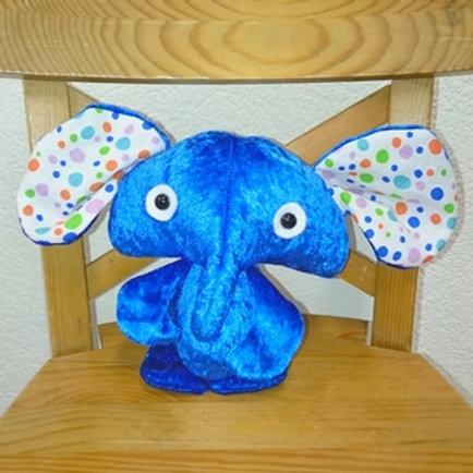 Eléphant bébé - bleu
