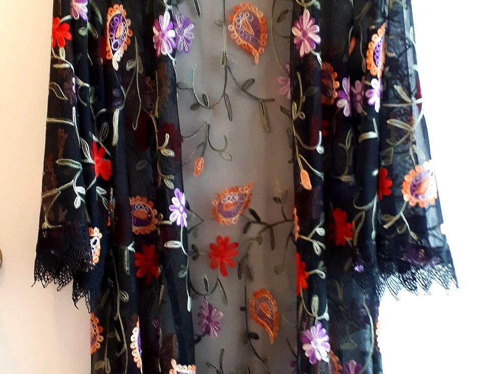 Kimono Flower Power