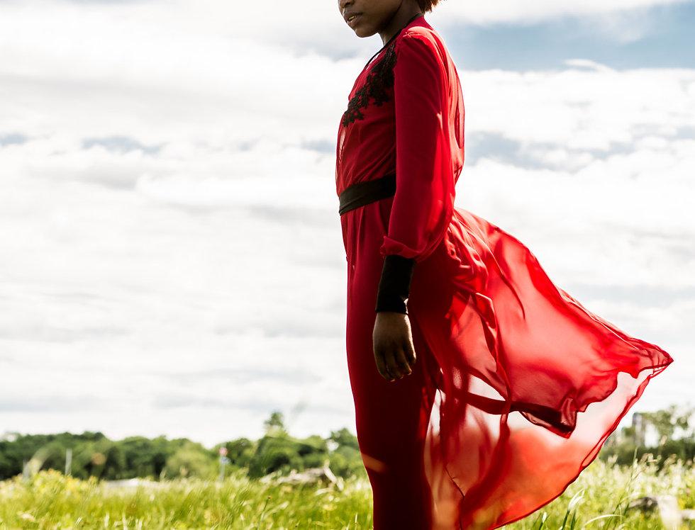 Veste Dame Rouge