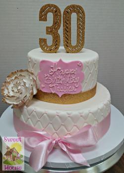 30th Bithday Cake