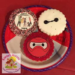 Big Hero 6 Cookies
