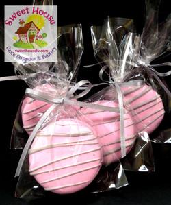 Pink & Grey Oreos