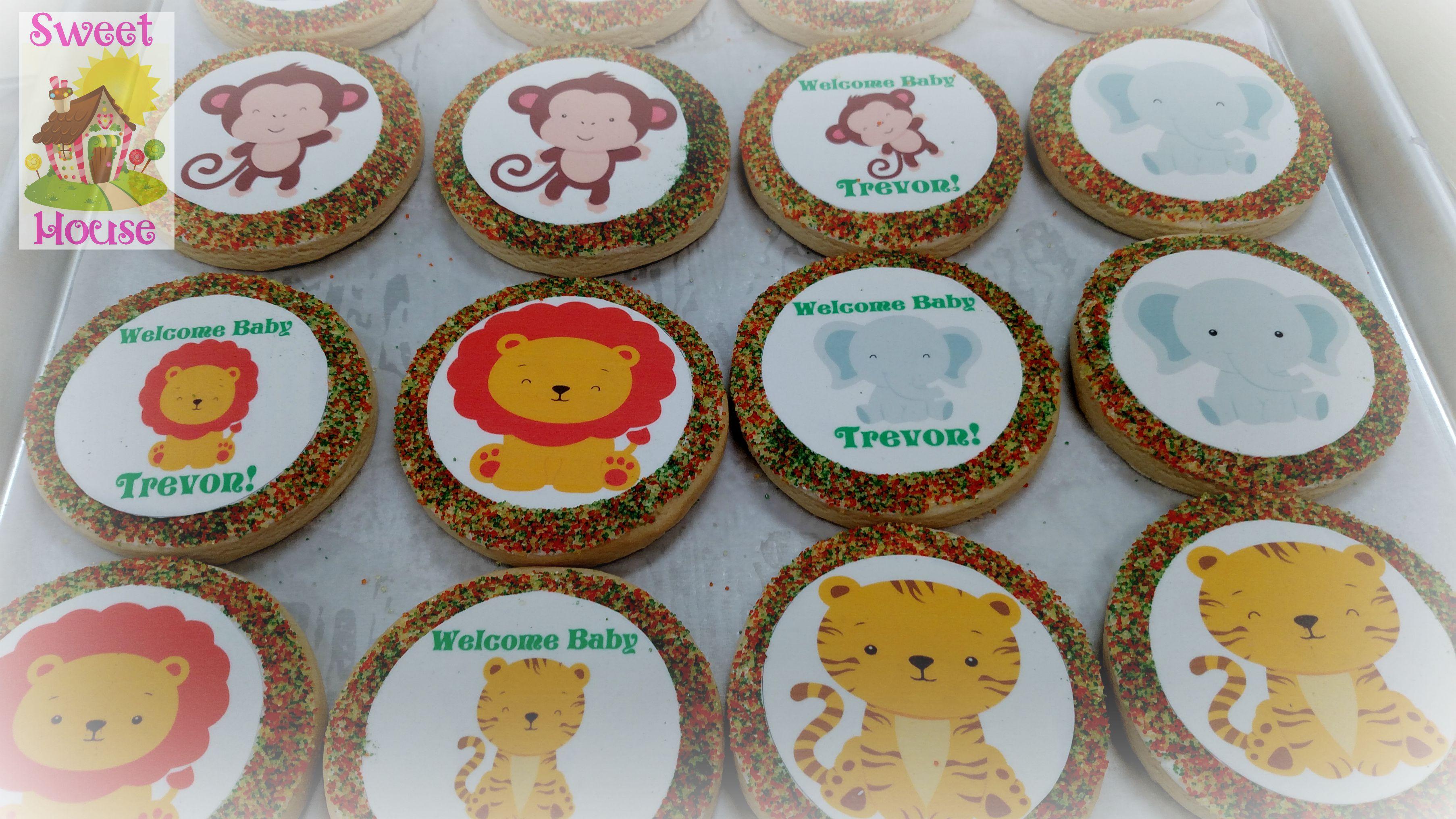 Jungle Baby Cookies