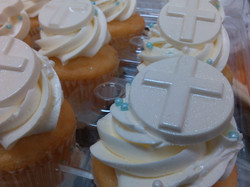 Cupcakes for a Baptism