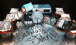3-D Camera Cake