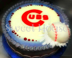Cubs Cake