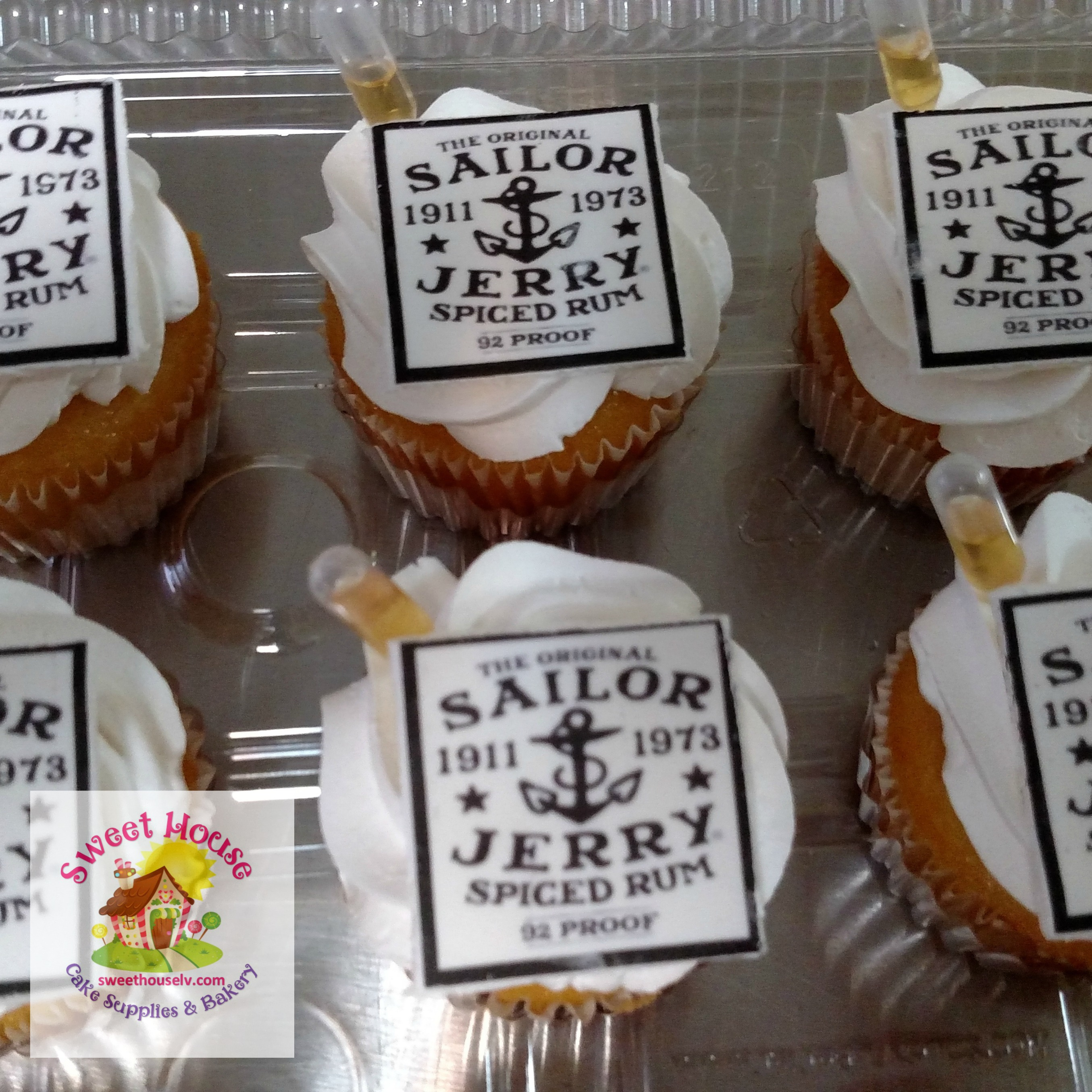 Sailor Jerry Cupcakes