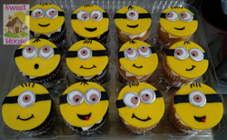 Minion Inspired Cupcakes