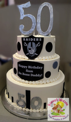 Raiders 50th Birthday