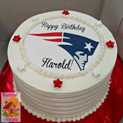 Pats Fan Birthday Cake