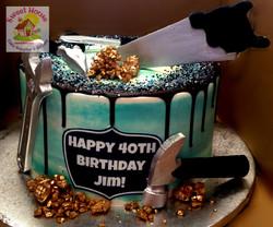 Jim's 40th Cake