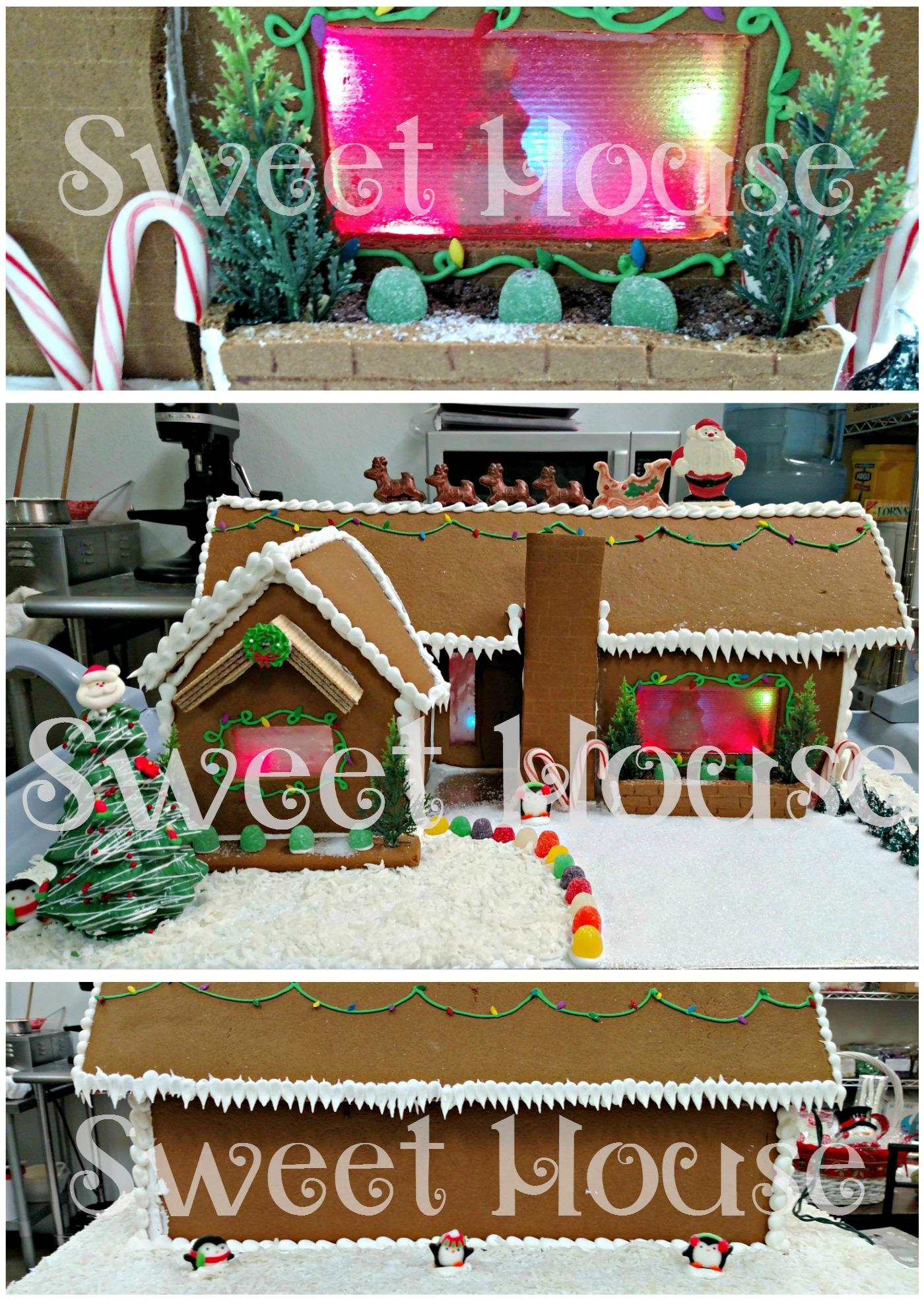 Custom Gingerbread House
