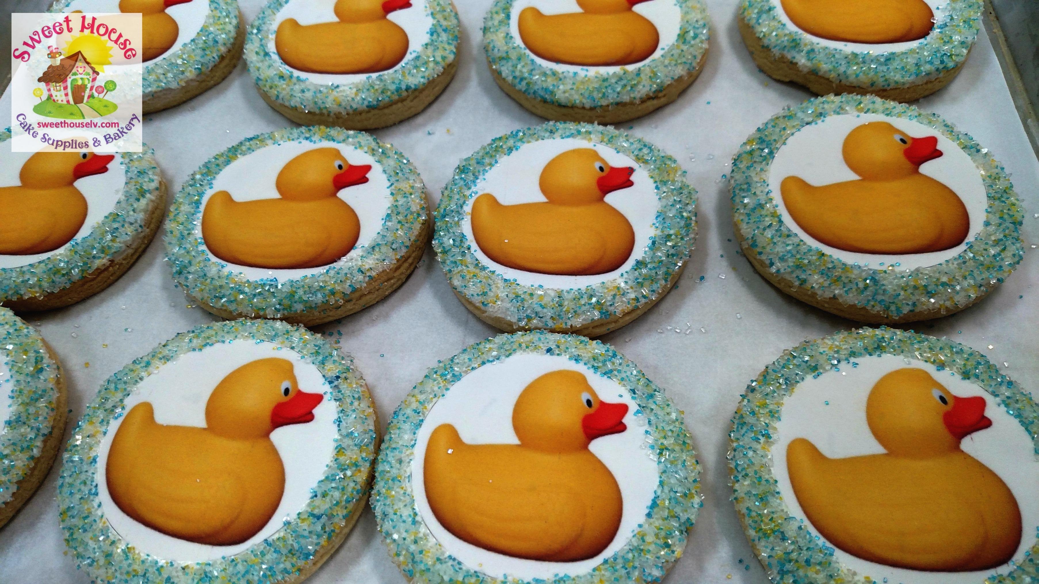 Rubber Ducky Cookies