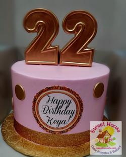 Pink & Gold 22
