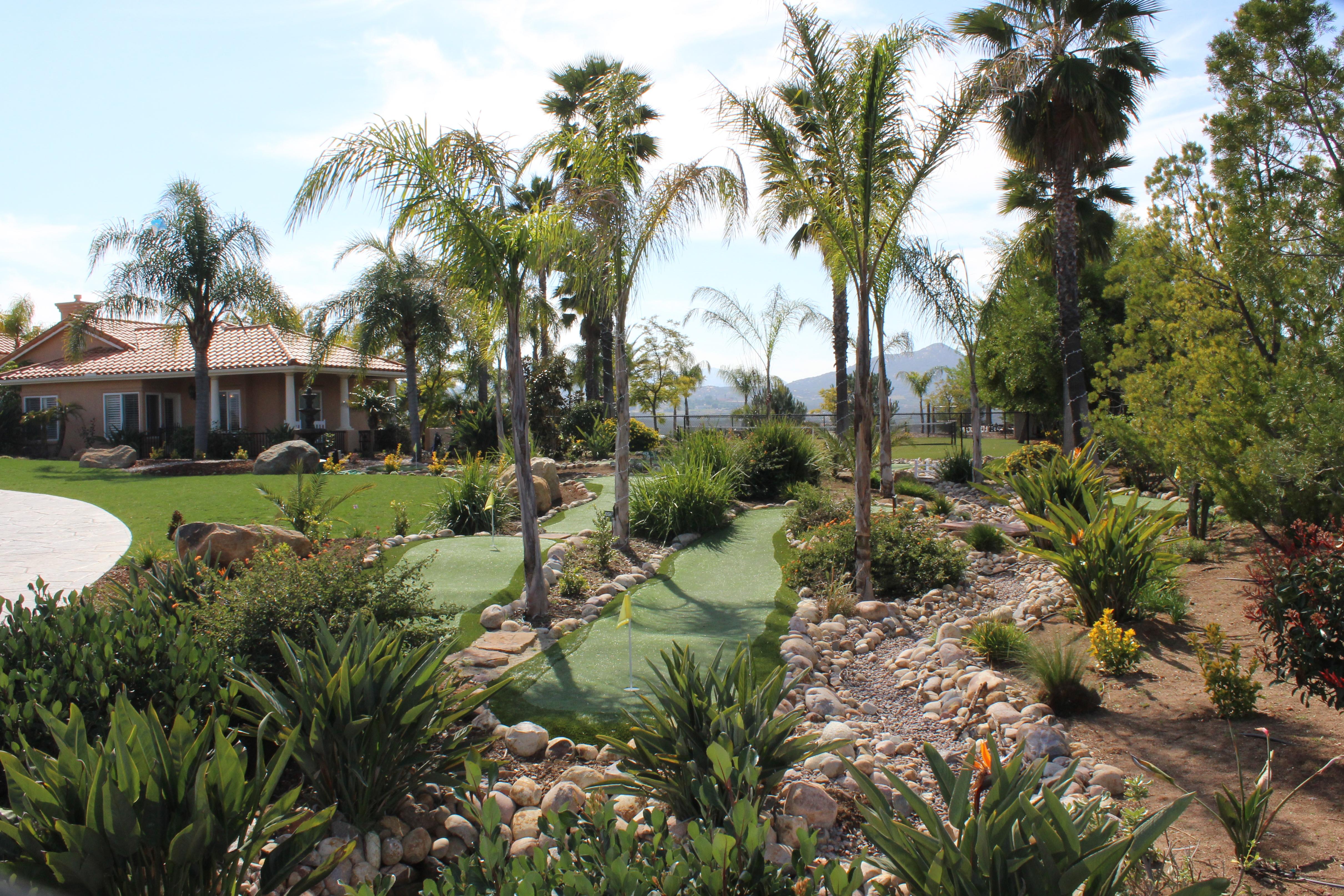 9 Hole Mini Golf Course