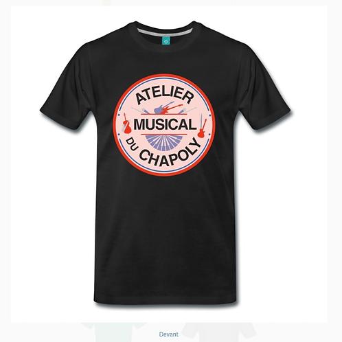 Tshirt atelier musical du chapoly