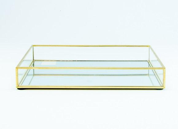 Presentatieschaal glas