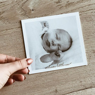 Geboorte - geboortekaartje - foto - baby