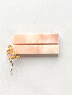 Marmeren kaarthouder - Roze