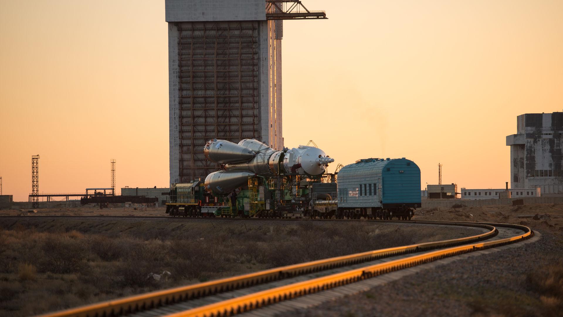 Soyuz Rollout