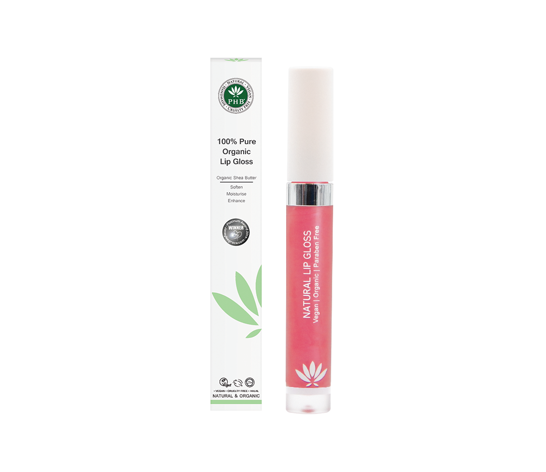 PHB 100% Pure Organic Lip Gloss - Camell