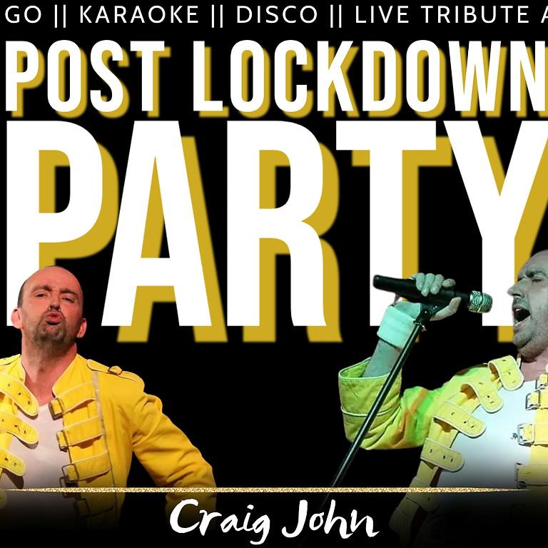 POST LOCKDOWN PARTY (Freddie Mercury tribute)