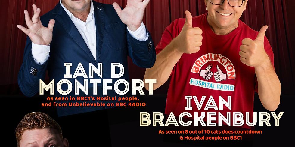 Live Comedy with Ivan Brackenbury and Ian D Montfort
