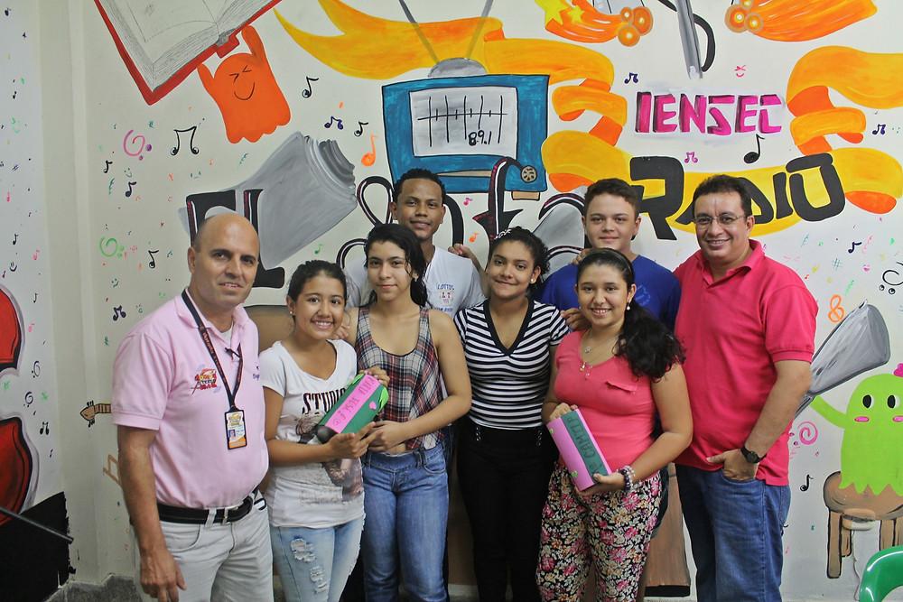 Foto. Dorada Stero. Jóvenes Programa El Sofá.