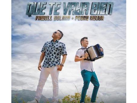 """Fawell Solano y Pedro Rueda presentan su nuevo sencillo """"Que te vaya bien"""""""