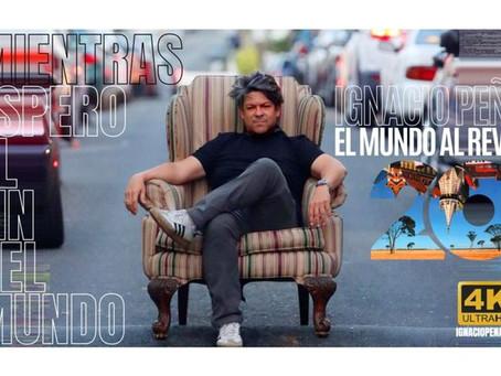 """Ignacio Peña, estrella del rock en español, regresa con """"El mundo al revés"""""""