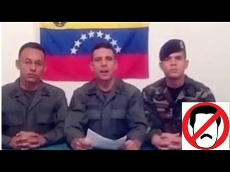 MILITARES EN REBELIÓN  CONTRA MADURO SE TOMAN BASE DEL EJERCITO EN VENEZUELA