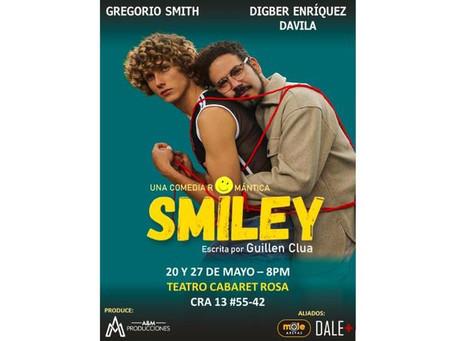 """""""Smiley"""", la comedia romántica gay que llega al Teatro Cabaret Rosa"""