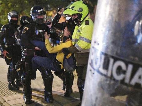 Anatomía de la violencia policial contra manifestantes en el paro nacional