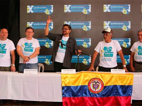 LAS FARC COMO PARTIDO POLÍTICO ESTARÁ  LISTO PARA EL 01 DE SEPTIEMBRE.