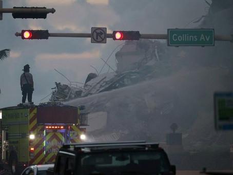 Desplome del edificio en Miami-Dade: cuatro muertos y 159 desaparecidos