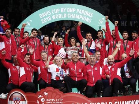 Croacia derrotó a Francia y vuelve a reinar en Copa Davis
