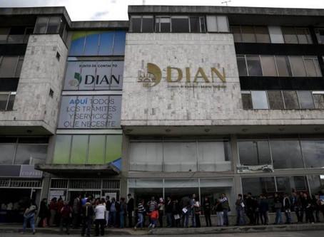 Dian embargará prima navideña de 3.000 colombianos morosos del impuesto de renta