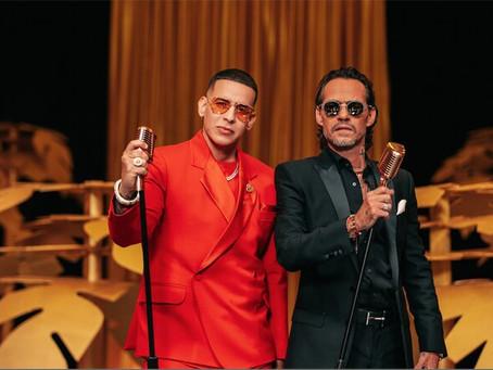 Daddy Yankee y Marc Anthony, juntos en concierto virtual