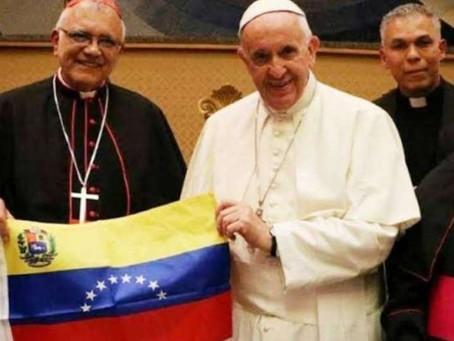 QUE SE EVITE O SUSPENDA LA CONSTITUYENTE EN VENEZUELA, ES LA PETICIÓN  DEL PAPA FRANCISCO.