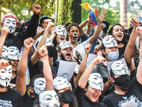 Gobierno Duque frente a las protestas: estrategias y consecuencias