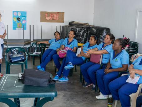 DOCENTES DE LA DORADA, RECIBEN TALLER SOBRE EDUCACIÓN INCLUYENTE