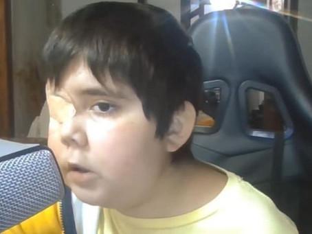 ¿Quién es Tomiii 11, el niño con cáncer cerebral que se volvió tendencia en YouTube?