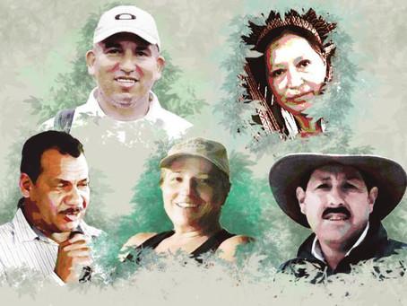 Los defensores ambientales asesinados mientras se hundía el Acuerdo de Escazú
