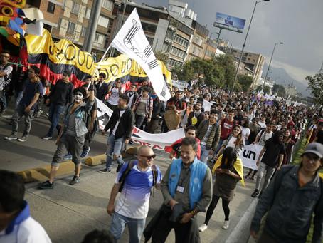 Estudiantes vuelven a marchar en las principales ciudades del país