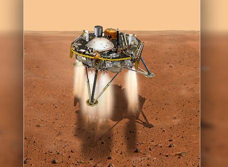 InSight se prepara para 'siete minutos de terror' antes de aterrizar en Marte