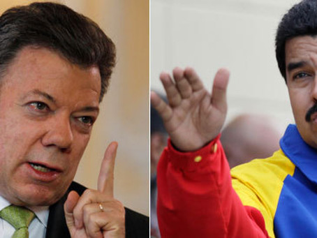 MADURO PRETENDE DESVIAR LA ATENCIÓN  DE LOS PROBLEMAS EN VENEZUELA, DICE PRESIDENTE SANTOS.